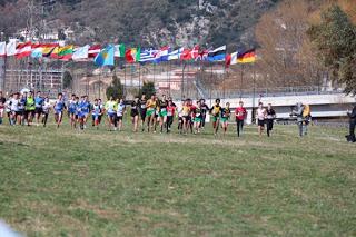 La partenza della gara Cadetti