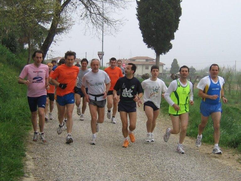 Pasquetta di corsa  a Rigaiolo 2007