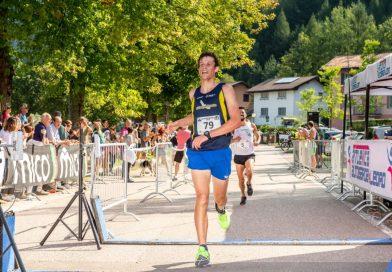 Raineri sul podio della Ledro Running dei record