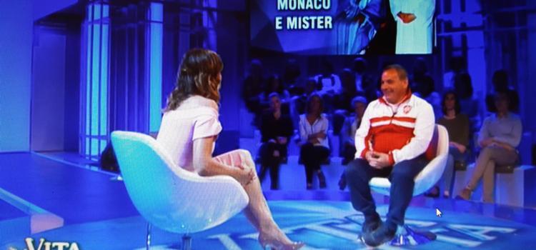 """Massimiliano intervistato a """"La Vita In Diretta"""""""