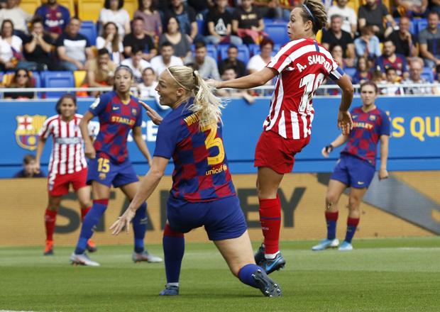 Amanda Sampedro Atleti Femenino Barcelona Femenino Declaraciones