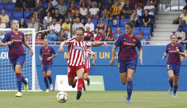 la liga, atleti femenino,, barcelona