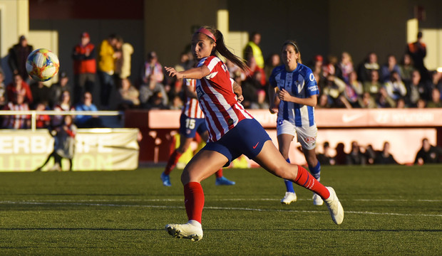 Declaraciones Deyna Castellanos Atleti Femenino Sporting de Huelva Primera Iberdrola