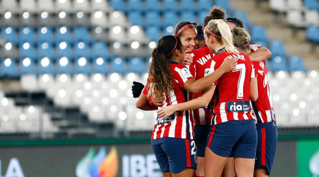 Atlético Barcelona Supercopa Femenina