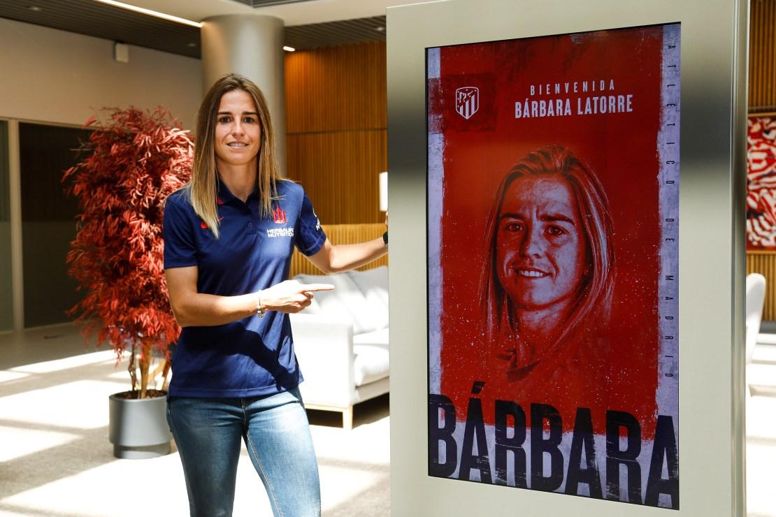 Bárbara Latorre Atleti Femen