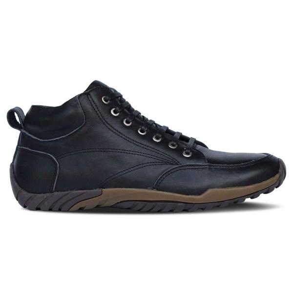 sepatu kulit pria casual C08 black - samping 2 - atmal