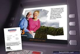 Advertisements Vs. ATM Fees