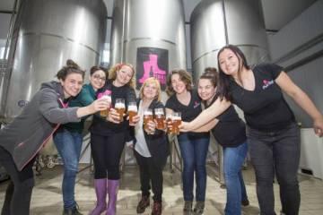 Pink Boots cerveza gallega