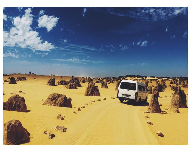 The Pinnacles Desert.