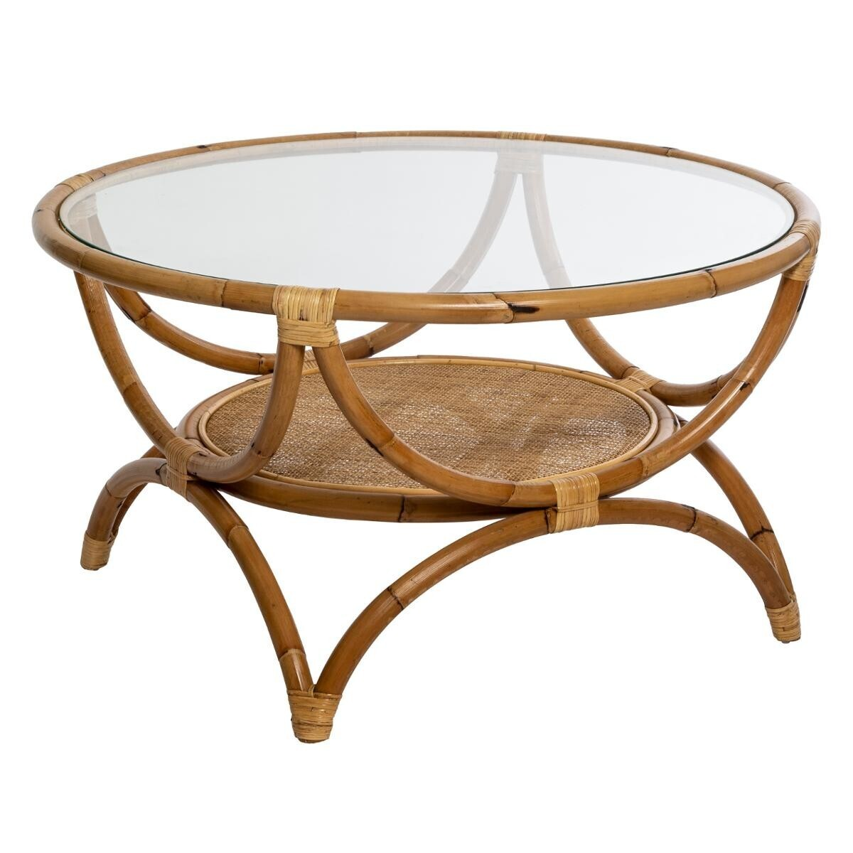 table basse farah en rotin