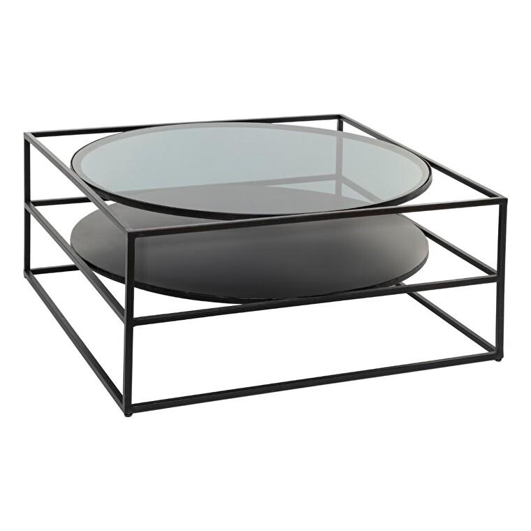 tables basses en bois verre et metal