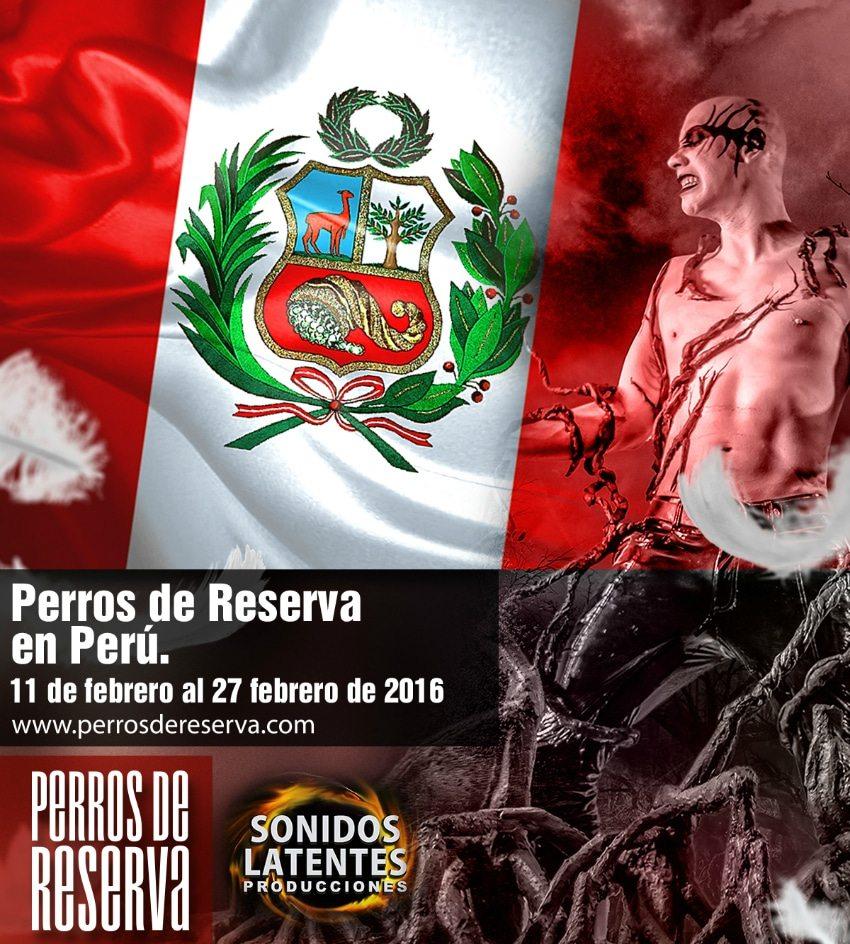 Perros De Reserva en Perú 2016 Official Poster