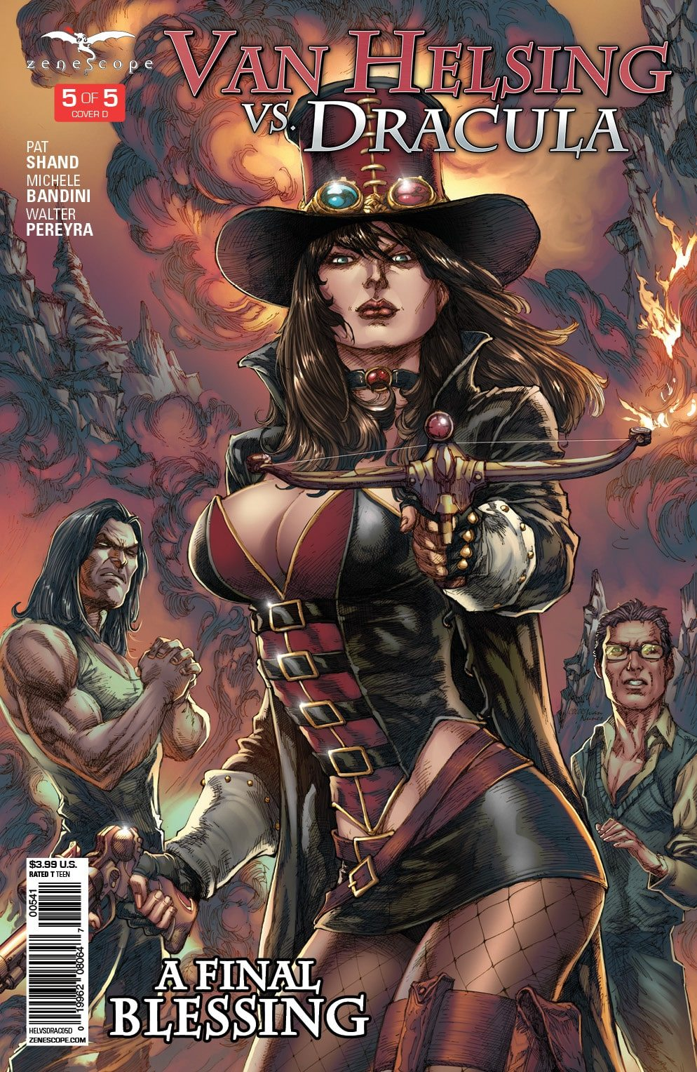 Van Helsing vs. Dracula #5: A Final Blessing
