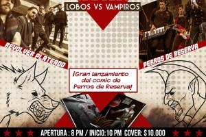 Una Noche de Lobos y Vampiros