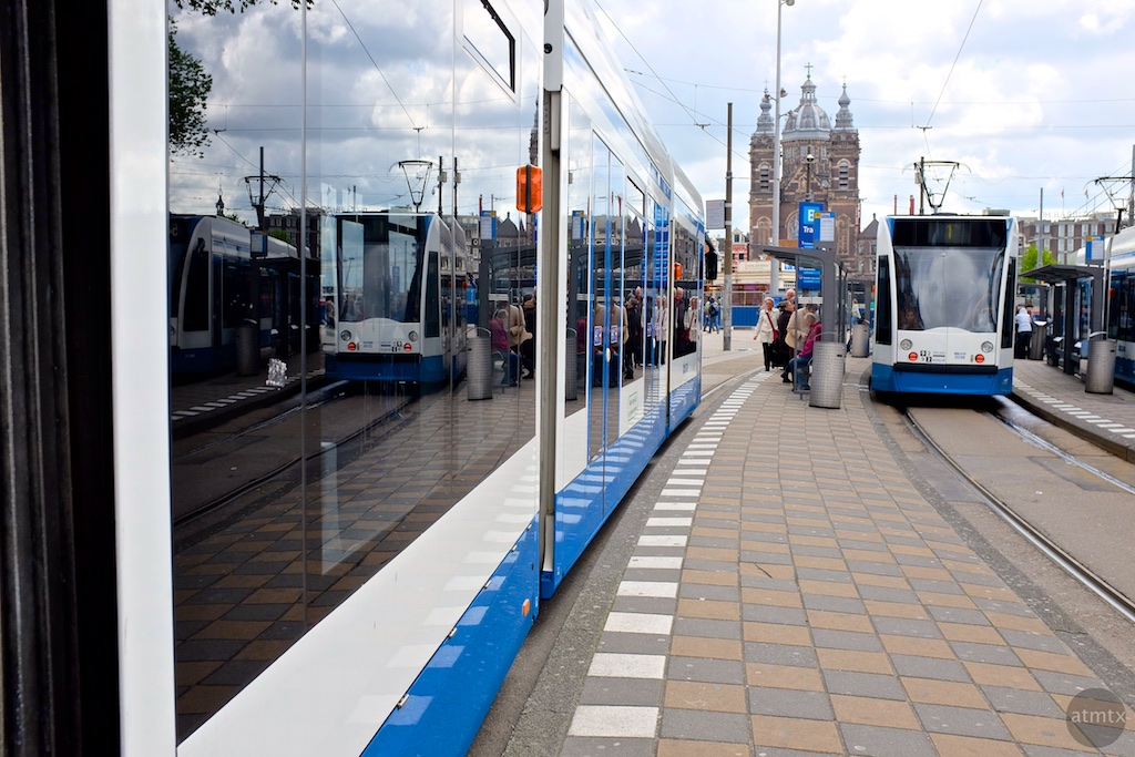 The Trams of Amsterdam #5 - Amsterdam, Netherlands