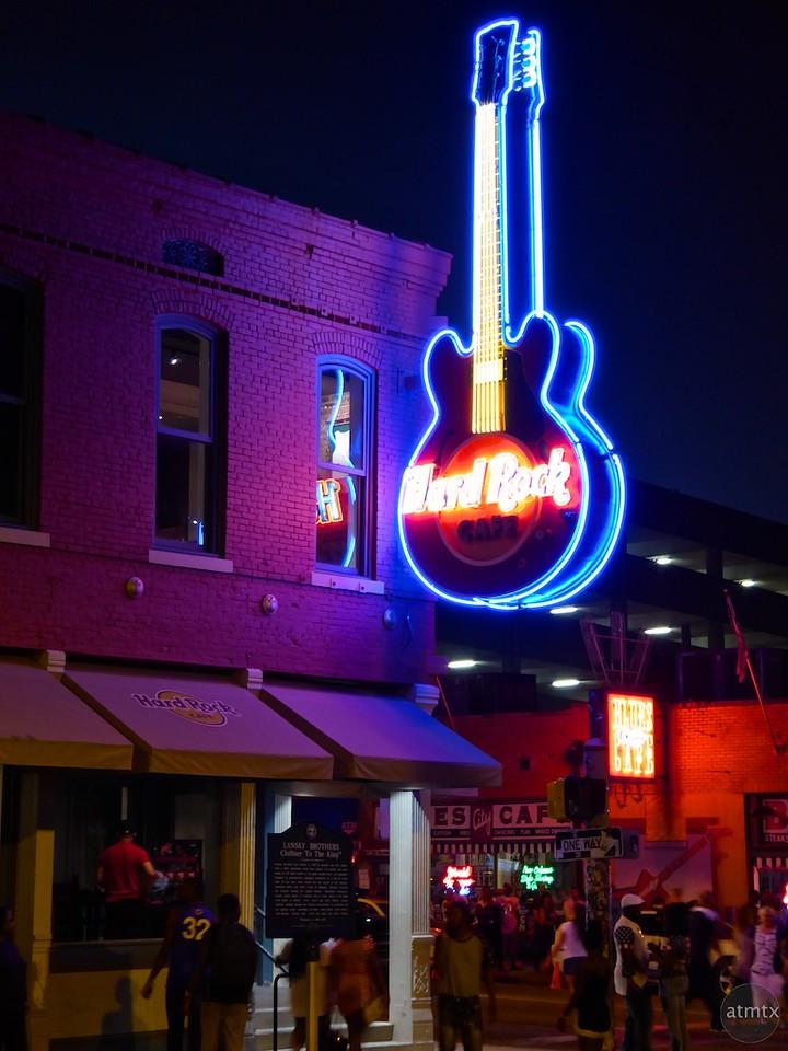 Beale Street Neon - Memphis, Tennessees