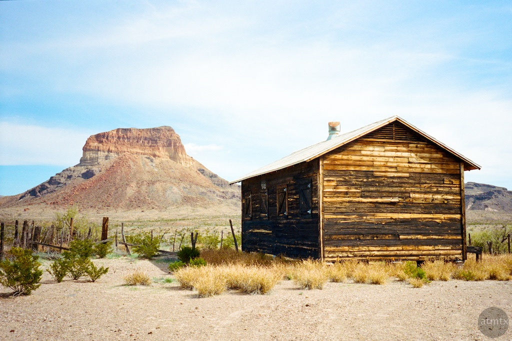 Little House in the Desert - Big Bend National Park, Texas