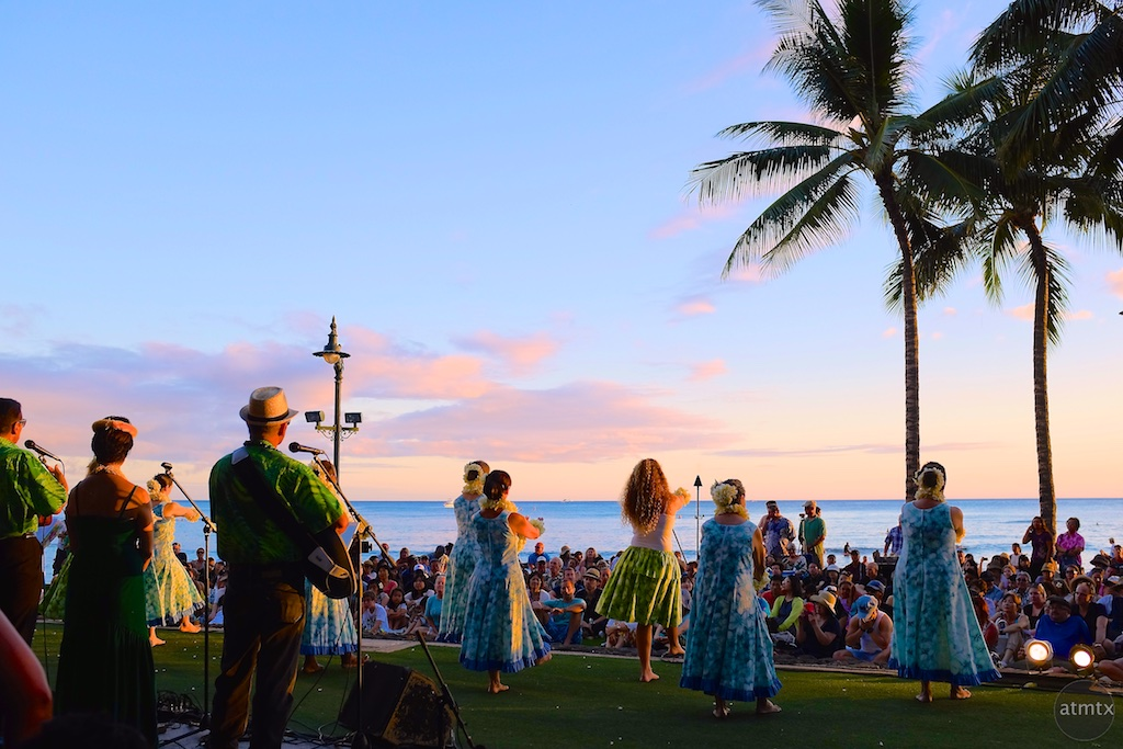 Kuhio Beach Hula Show - Honolulu, Hawaii