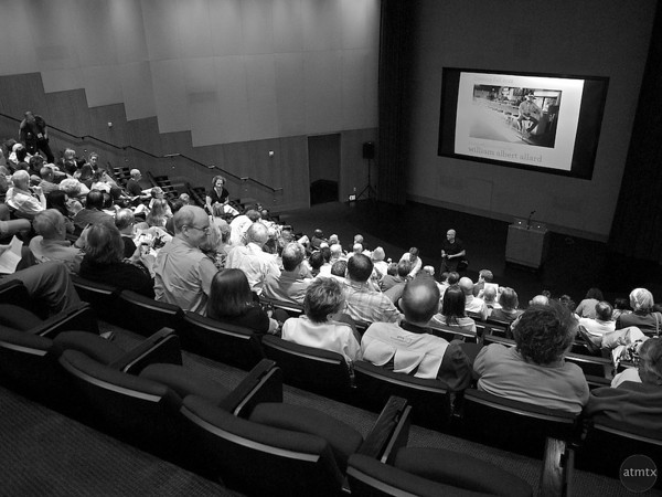 Lecture Hall, Peter Turnley Lecture - Austin, Texas