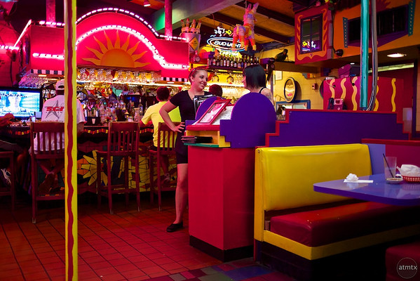 Waitresses Talking, El Mercado - Austin, Texas