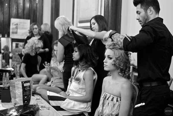 Behind the Scenes at Austin Fashion Week