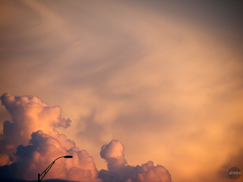 Abstract SoCo Clouds #2 - Austin, Texas