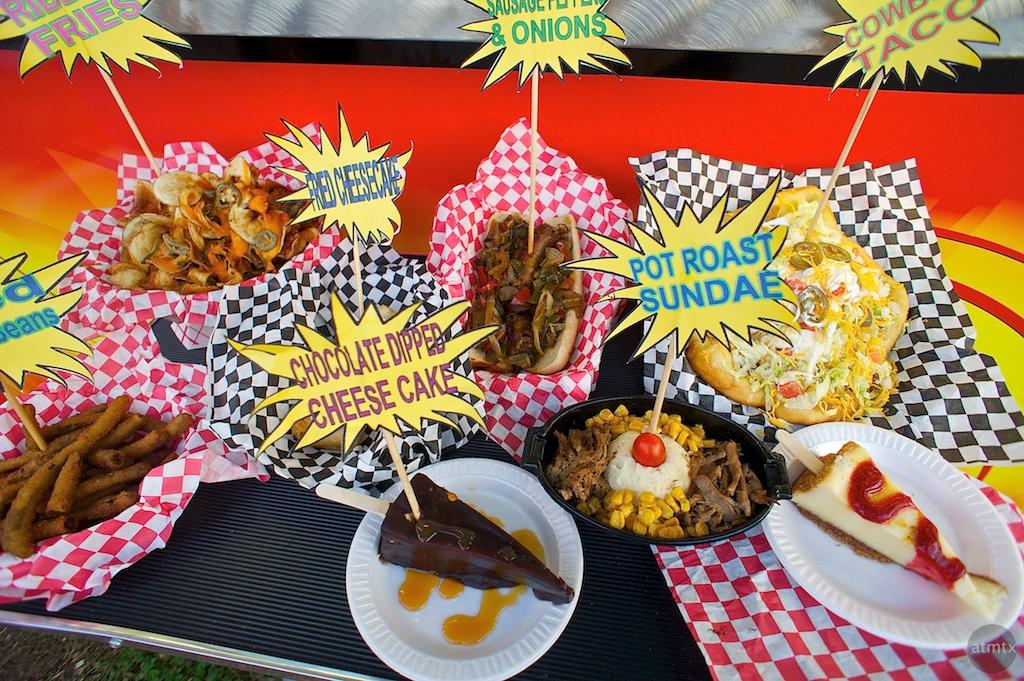Carnival Food, Rodeo Austin