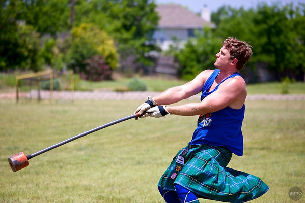 22 pound Hammer #2, Highland Games - Pflugerville, Texas