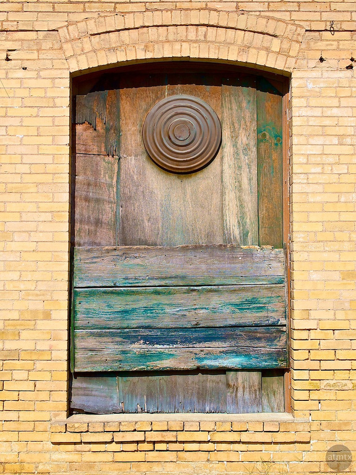 Window with Artistic Distress - Smithville, Texas