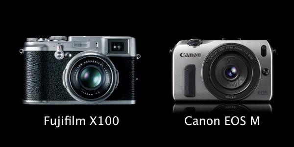 Fujifilm FinePix X100 vs. Canon EOS M