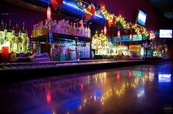Bright Bar Lights - Austin, Texas