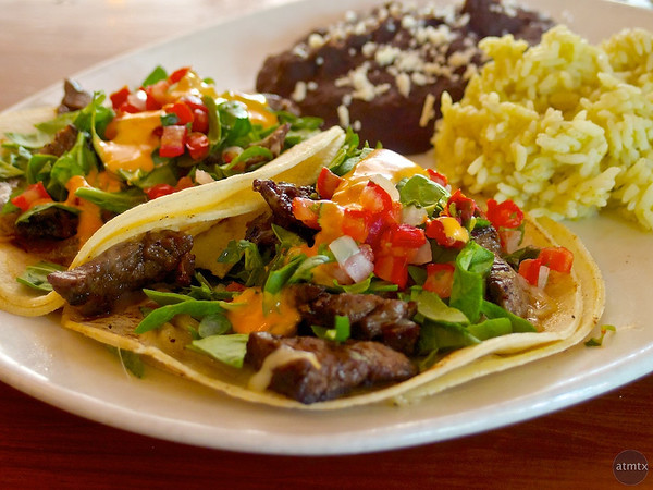 Coffee Rubbed Steak Tacos, Garrido's - Austin, Texas