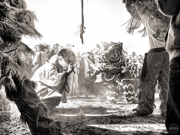 Vintage Lion Dance #1, 2012 Chinese New Year Celebration