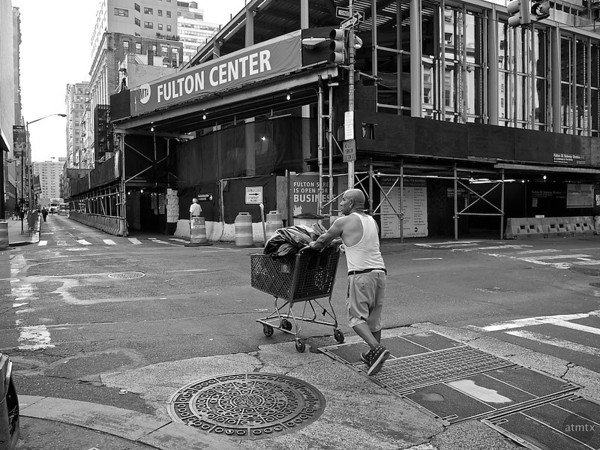 Fulton Center Construction - New York, New York