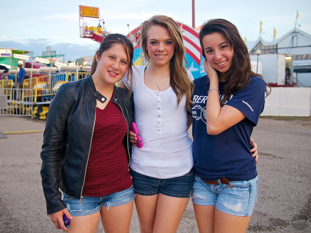 Ashley, Taylor and Rose, Rodeo Texas