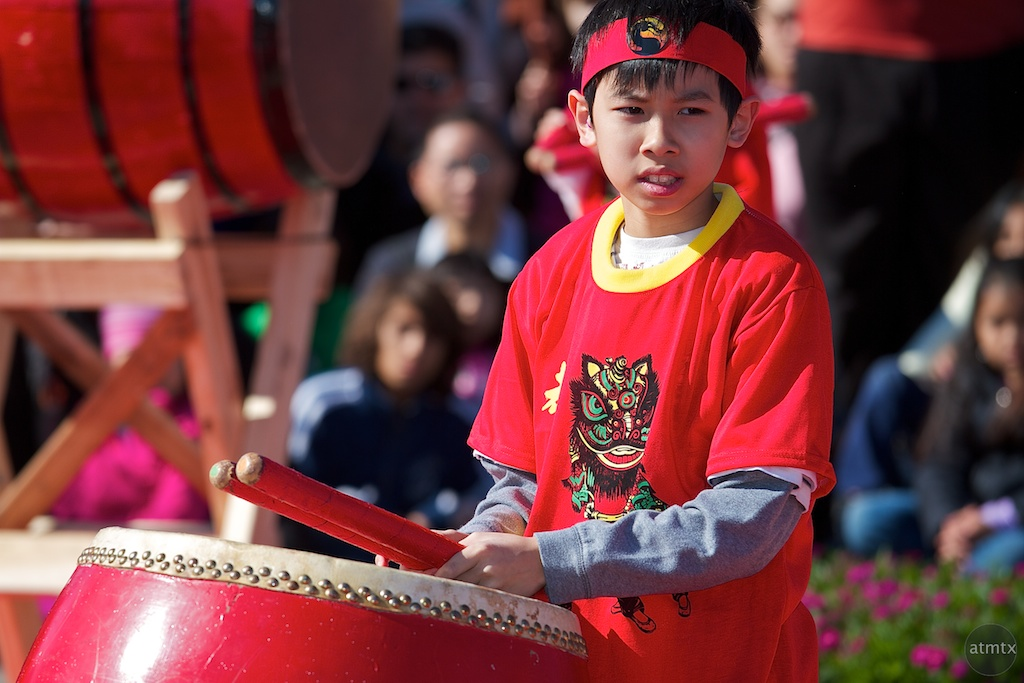 Drumming, 2012 Chinese New Year Celebration
