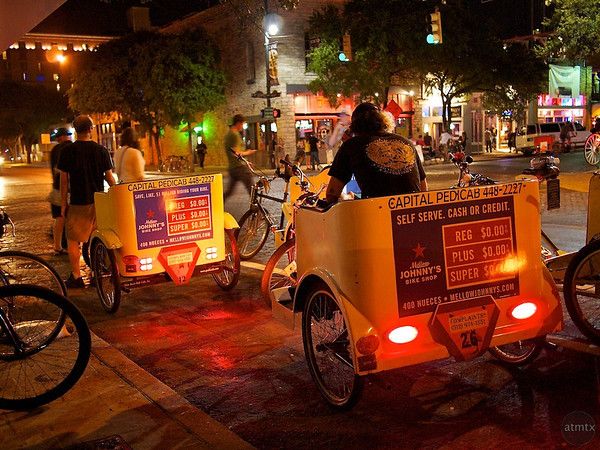 Pedicabs on 6th Street