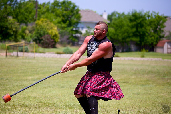 22 pound Hammer #1, Highland Games - Pflugerville, Texas