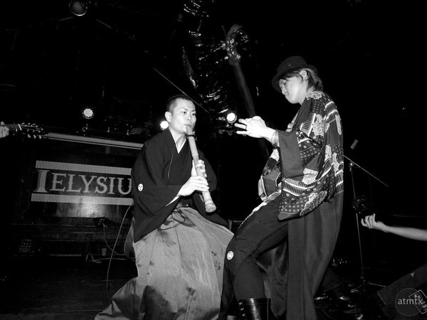 Shuji, Daisuke and Jack jam in Kao=S, SXSW Japan Nite
