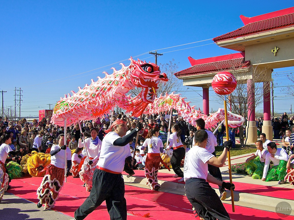 Dragon Dance, 2012 Chinese New Year Celebration