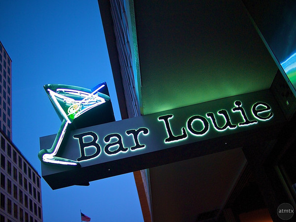 Bar Louie at Blue Hour - Austin, Texas