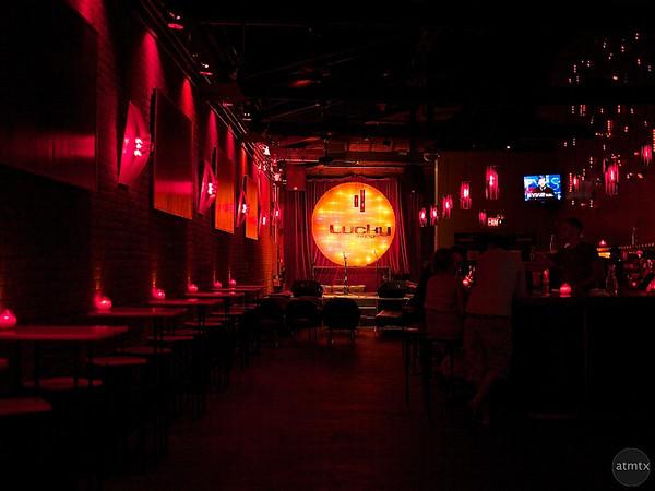 Lucky Lounge Interior - Austin, Texas