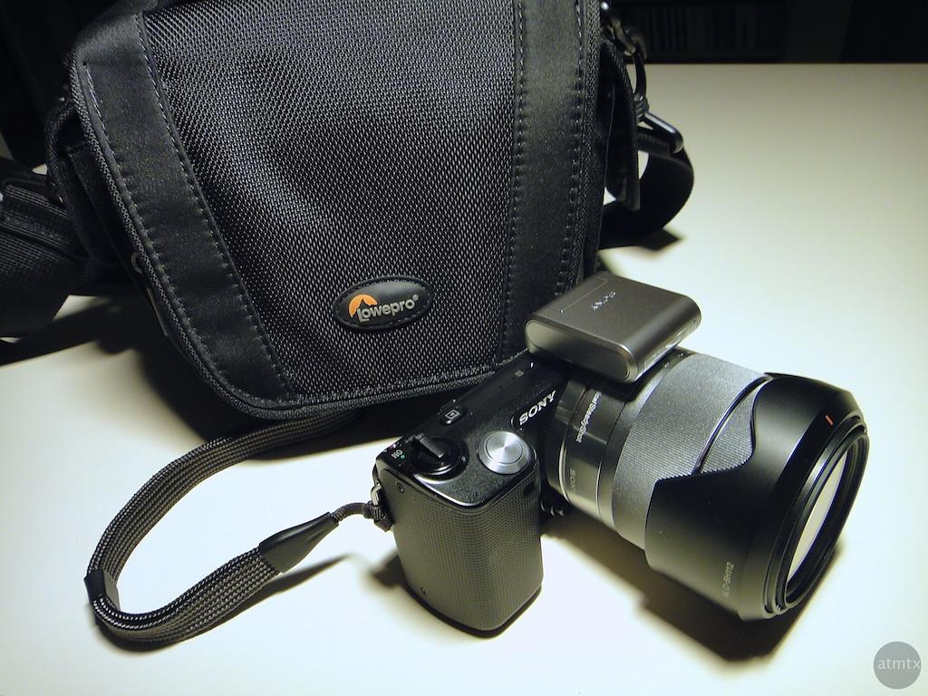 Lowepro Edit 120 and Sony NEX-5