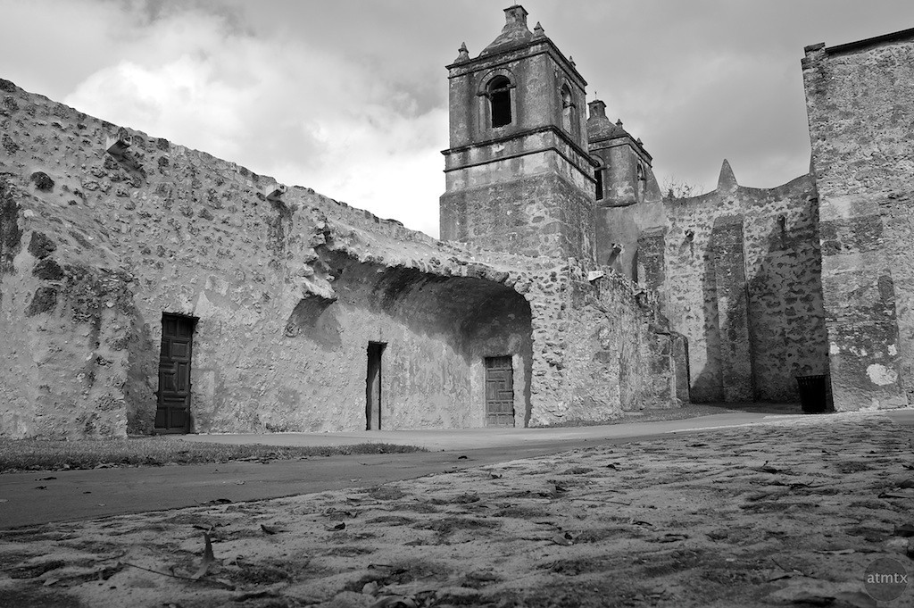 Mission Concepcion Courtyard Detail