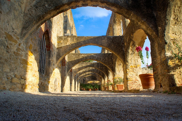 Arches of Mission San Jos