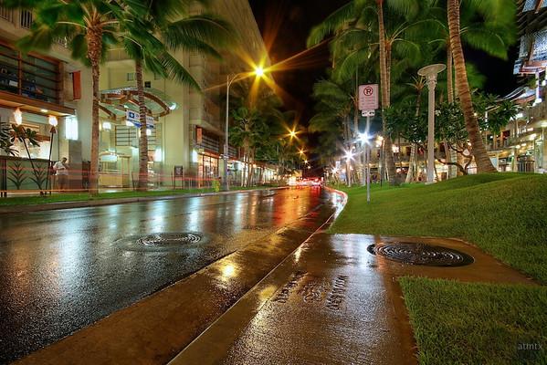 Waikiki Shines at Night