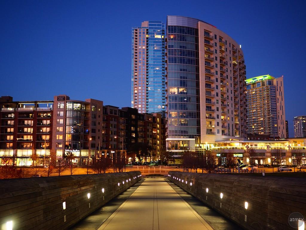 The Path to High Rise Living, Blue Hour - Austin, Texas