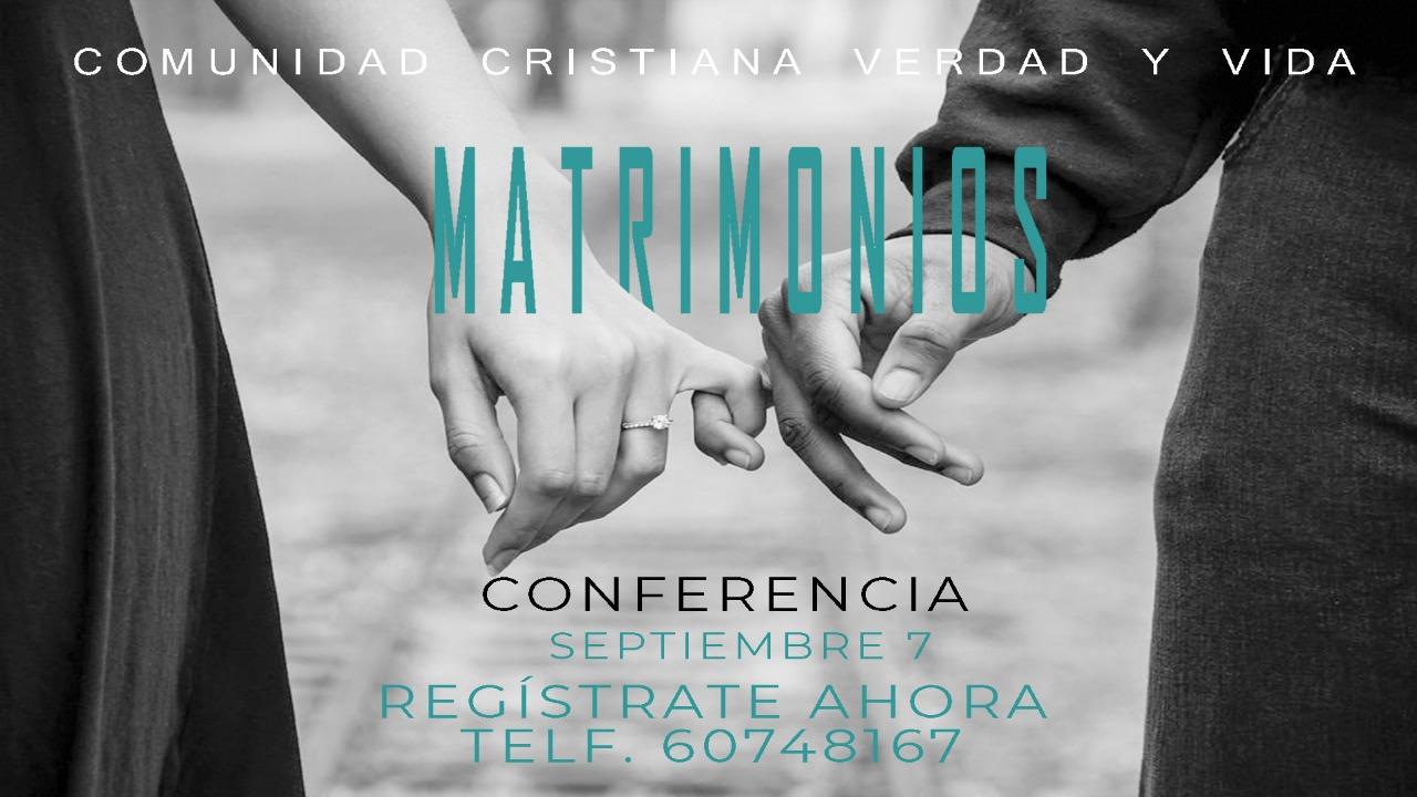 conferencia de matrimonios