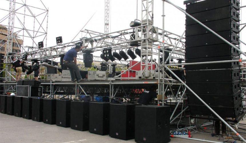 Equipos de Sonido Pro-cruzadas 2 Fase