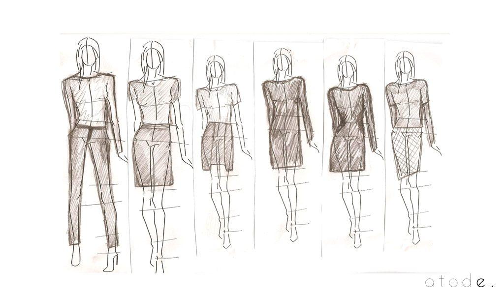 Le Croquis De Mode Atode Vetement Femme Chic Classe